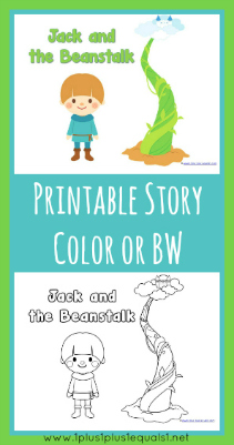 Dynamite image regarding jack and the beanstalk printable story