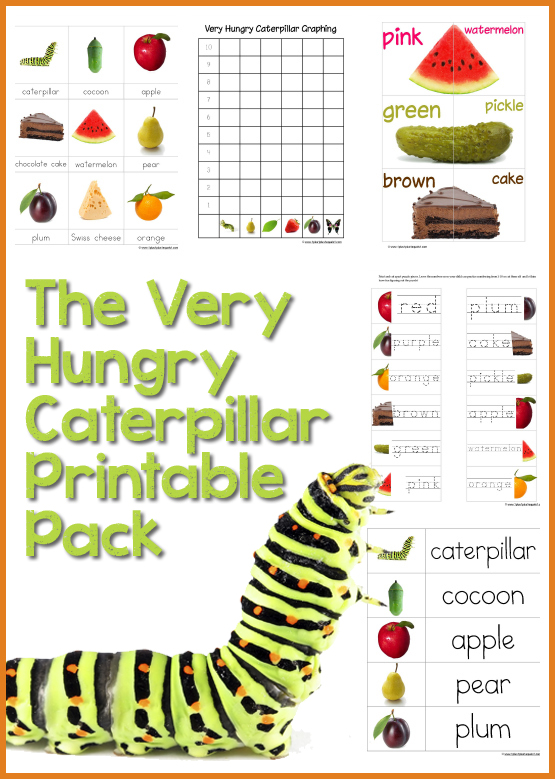The Very Hungry Caterpillar 2012 Update !